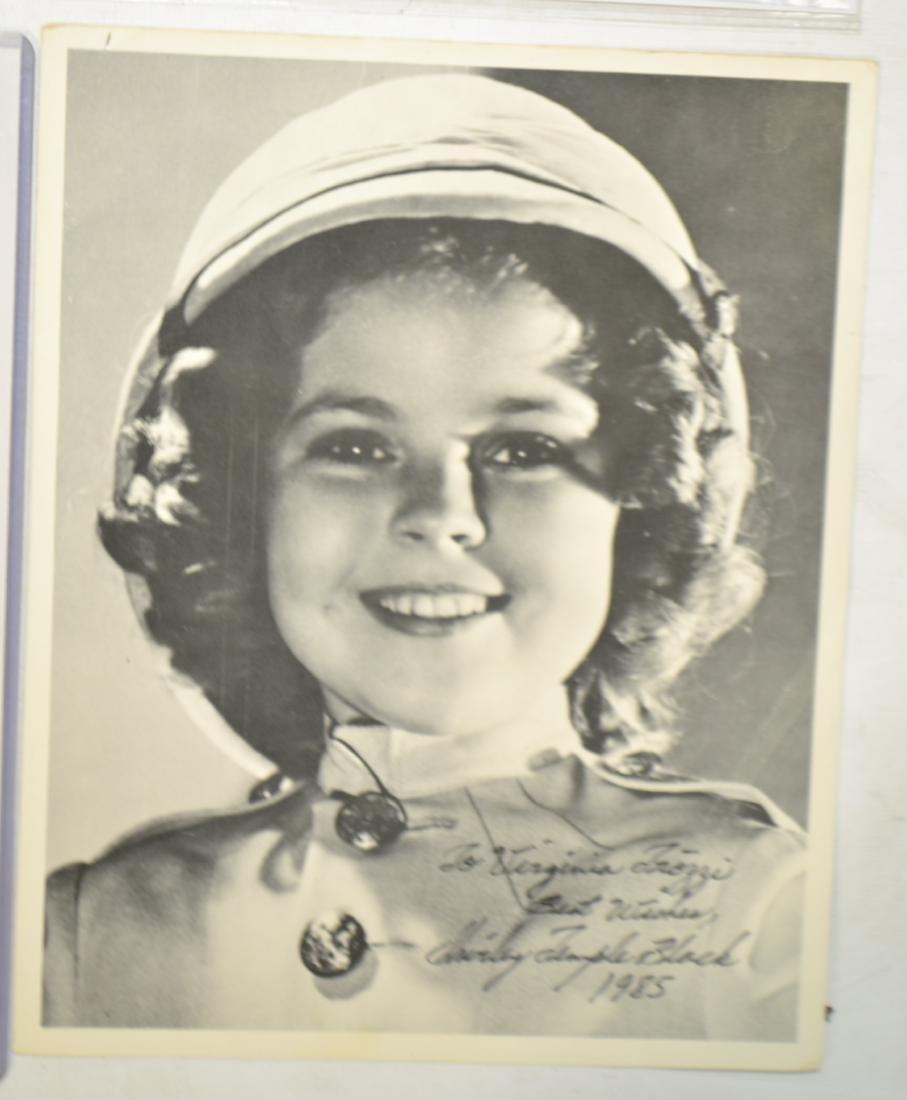 Autographed Film Star Photos - 3