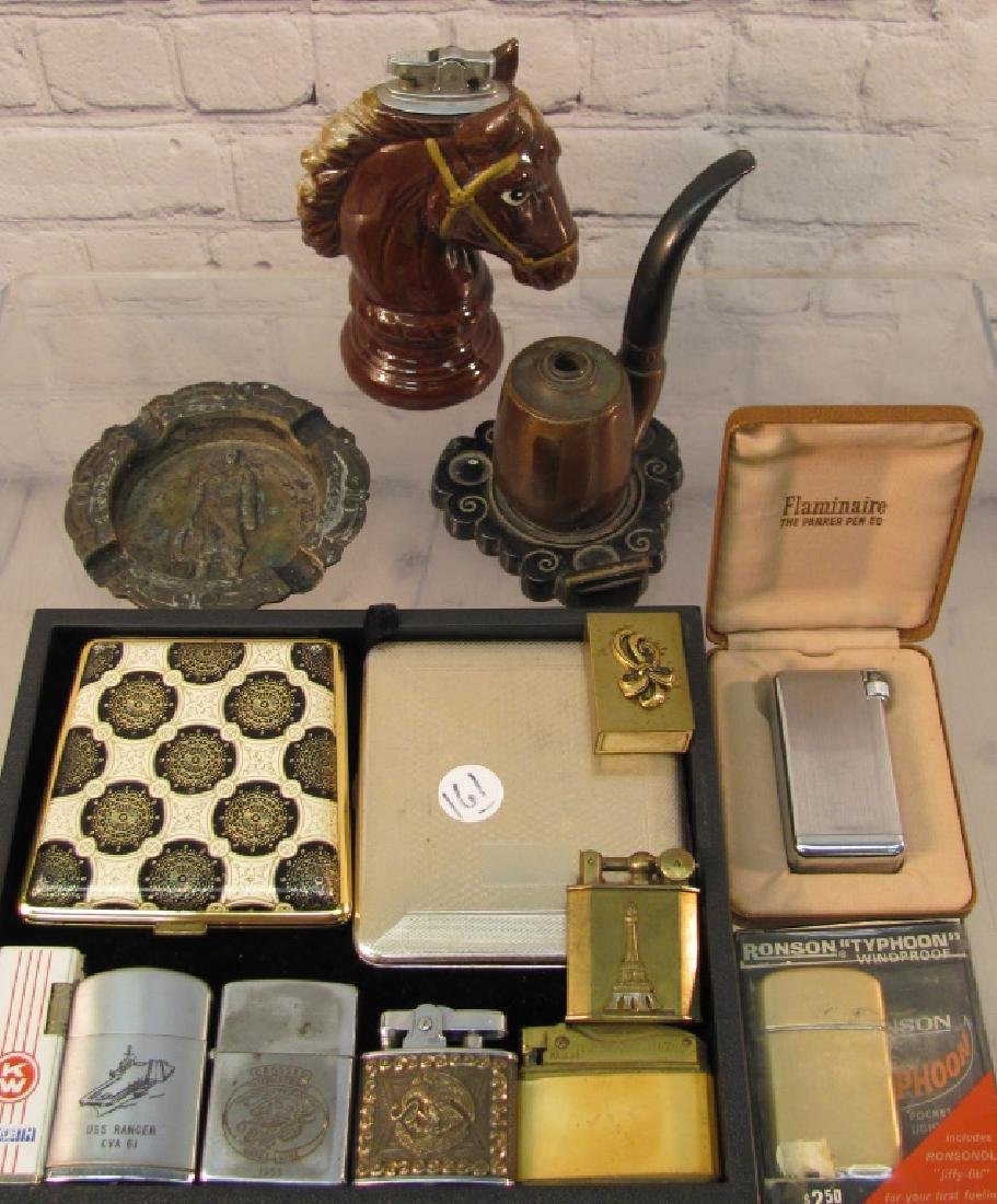 Lighters and Cigarette Boxes