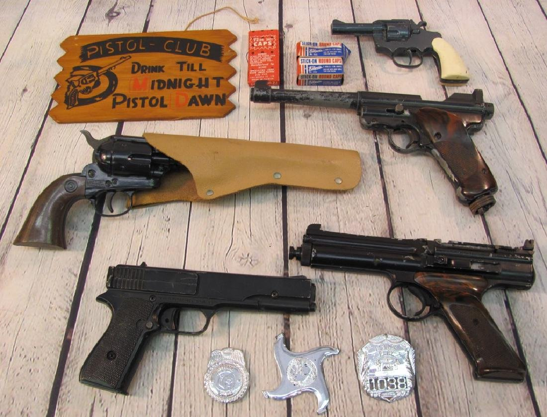 Grouping of Pellet and Toy Guns