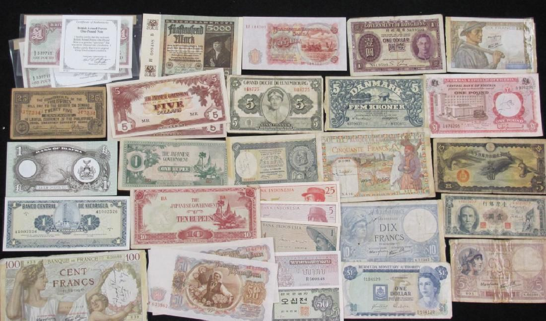 Grouping of Foreign Money
