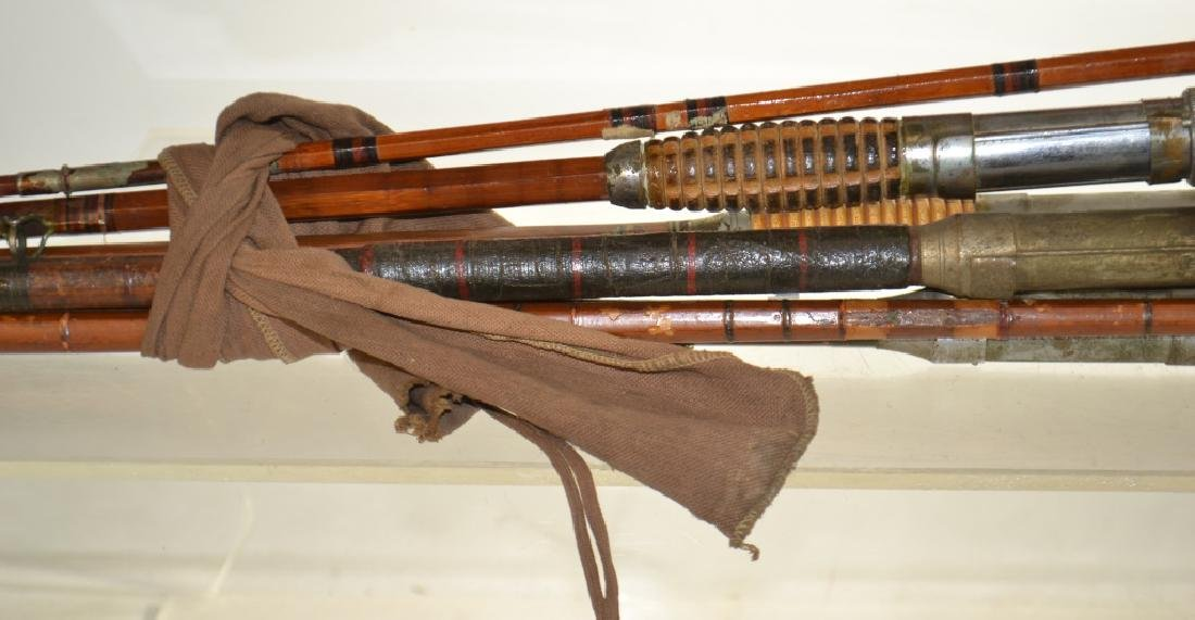 Vintage Bamboo Fishing Rods - 2