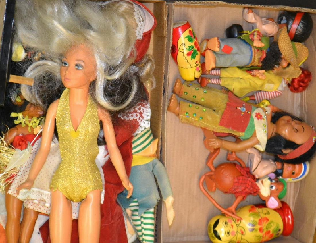 Mixed Doll Grouping