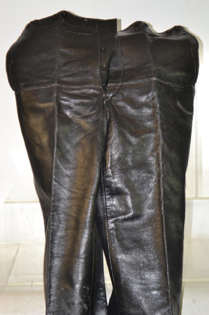 WW II German Leather Submarine Pants