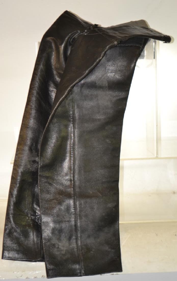 WW II German Leather Submarine Pants - 2