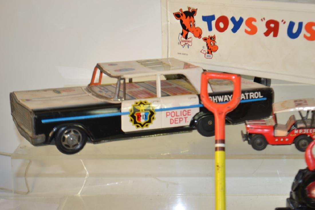 Tin Litho Vehicle Grouping - 2