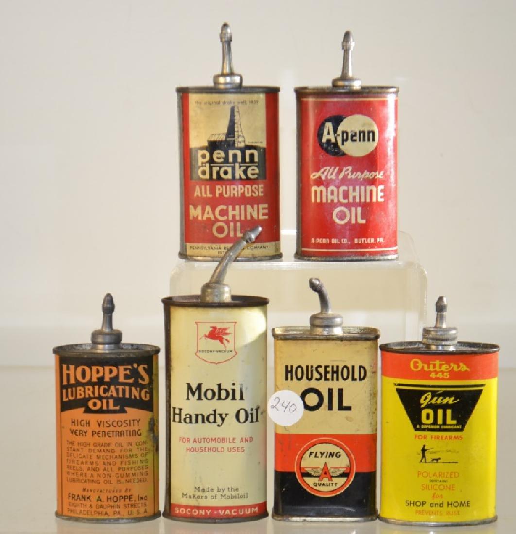 Zinc Cap Oiler Collection