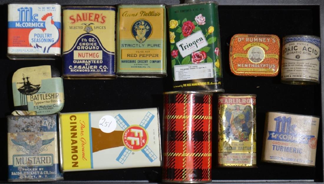 Vintage Advertising Tins