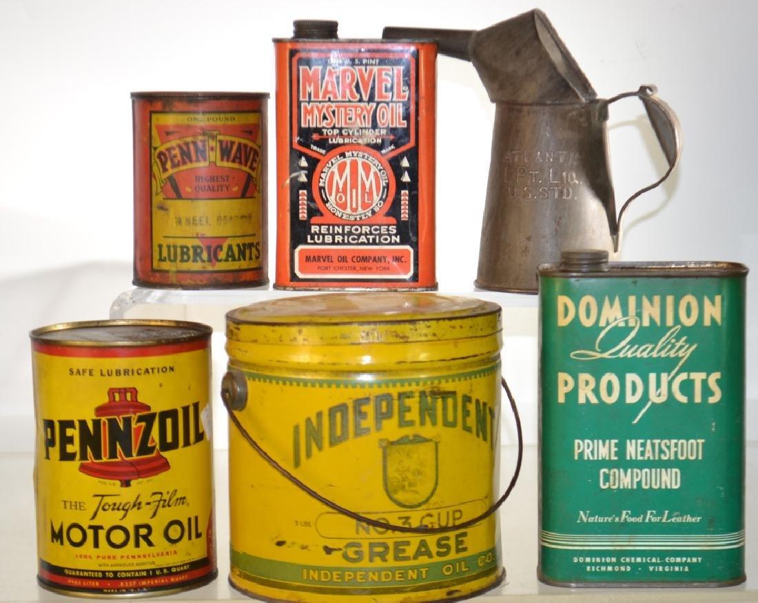 Vintage Automotive Advertising Tins