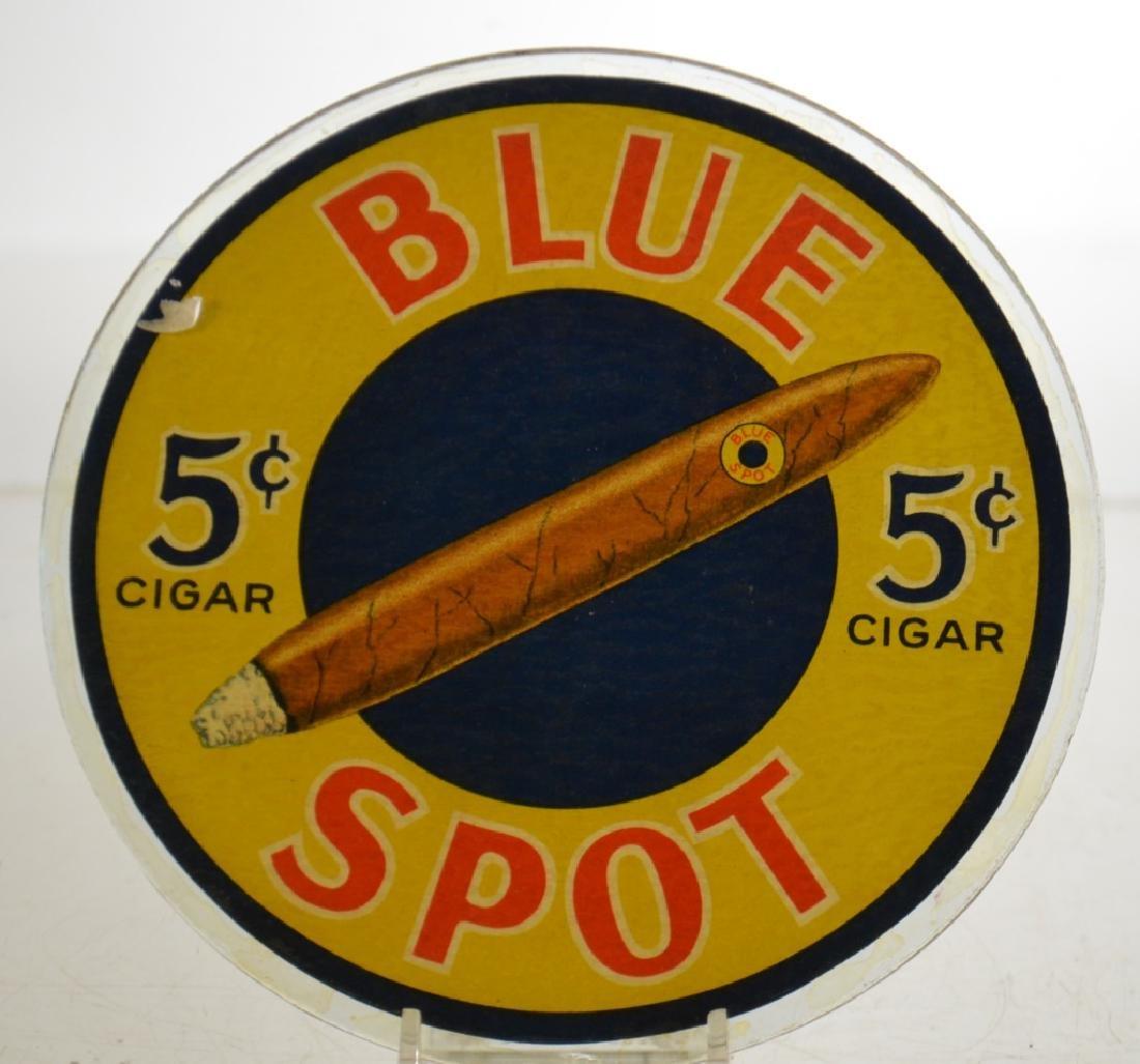 """Blue Spot"" 5 Cent Cigar Ad"