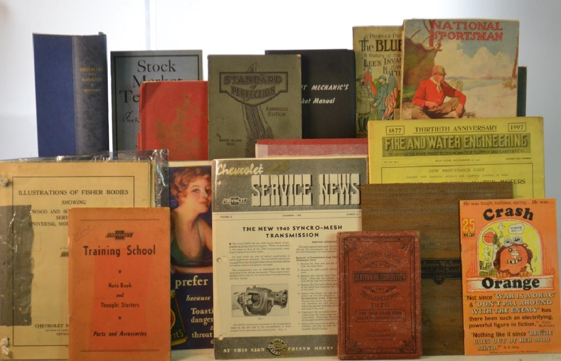 Vintage Book Grouping