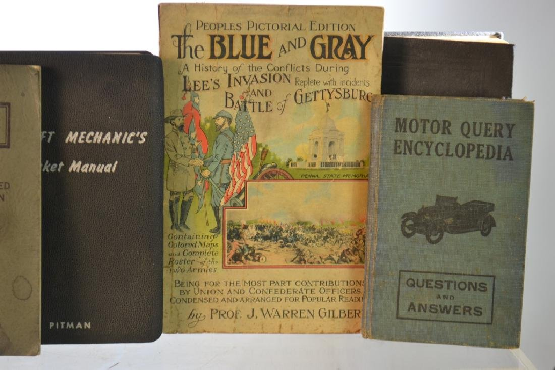 Vintage Book Grouping - 6
