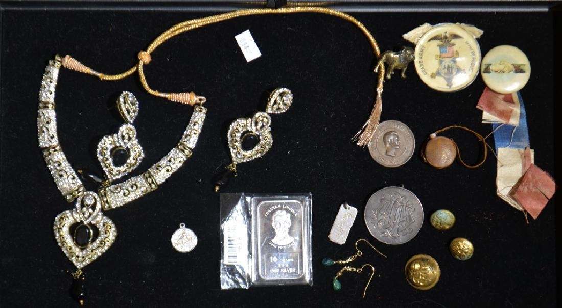 Military Related Items and Jewelry