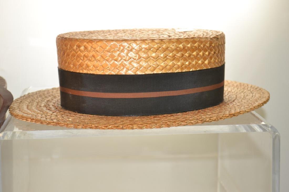 Two Vintage Men's Hats - 2