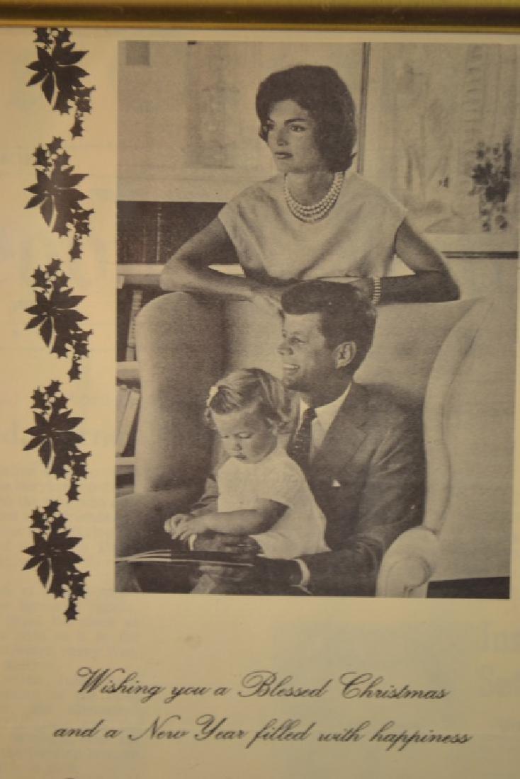 Autographed Photo of Senator John F. Kennedy - 2