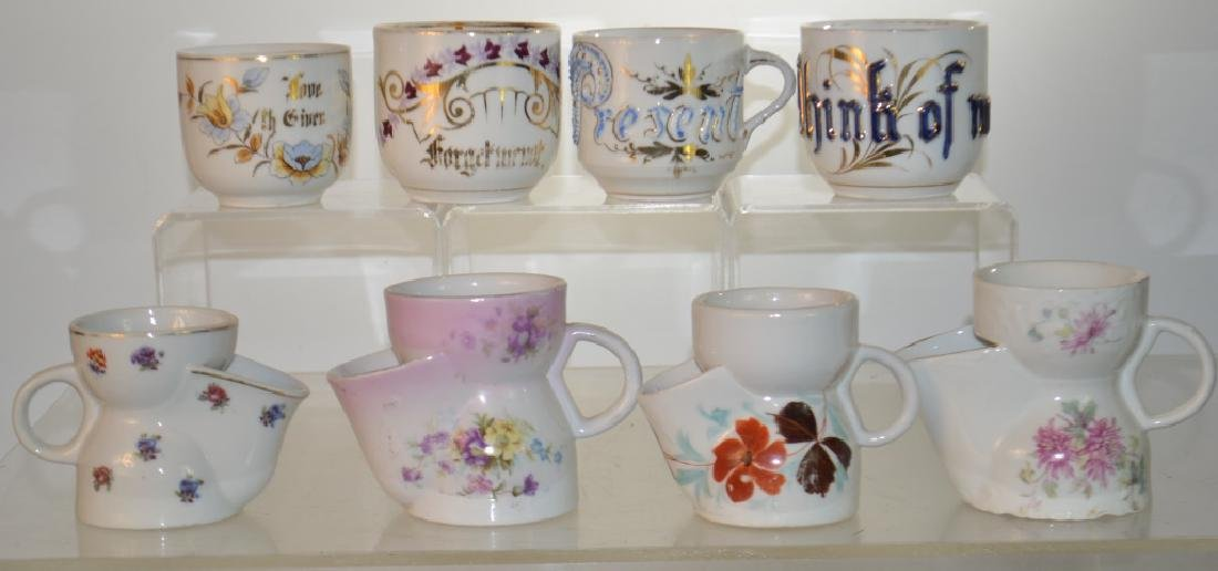 Victorian Mustache Cup Collection