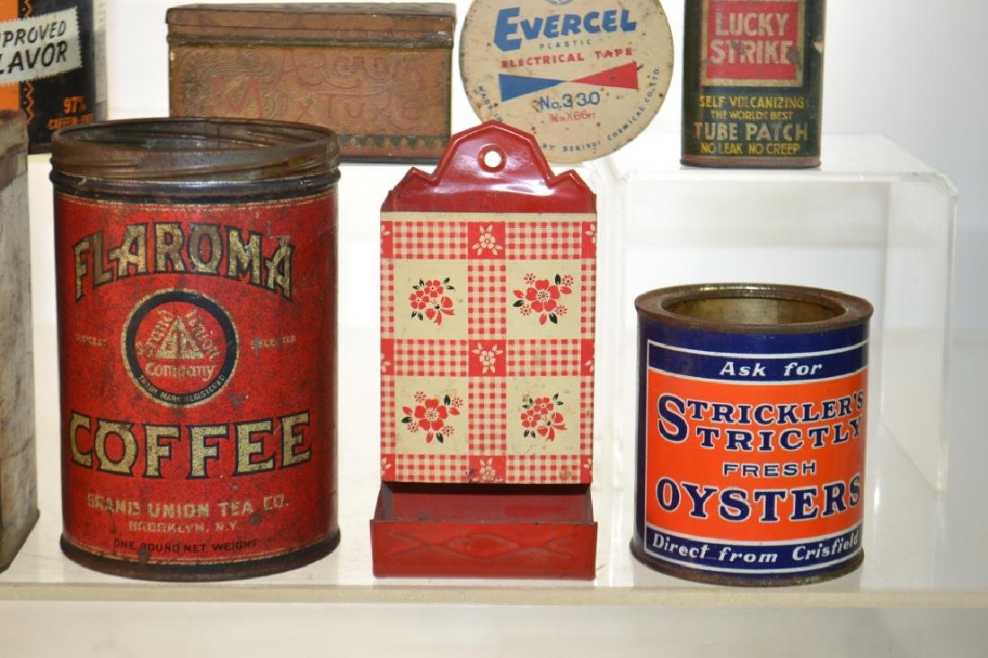 Vintage Advertising Tins - 2