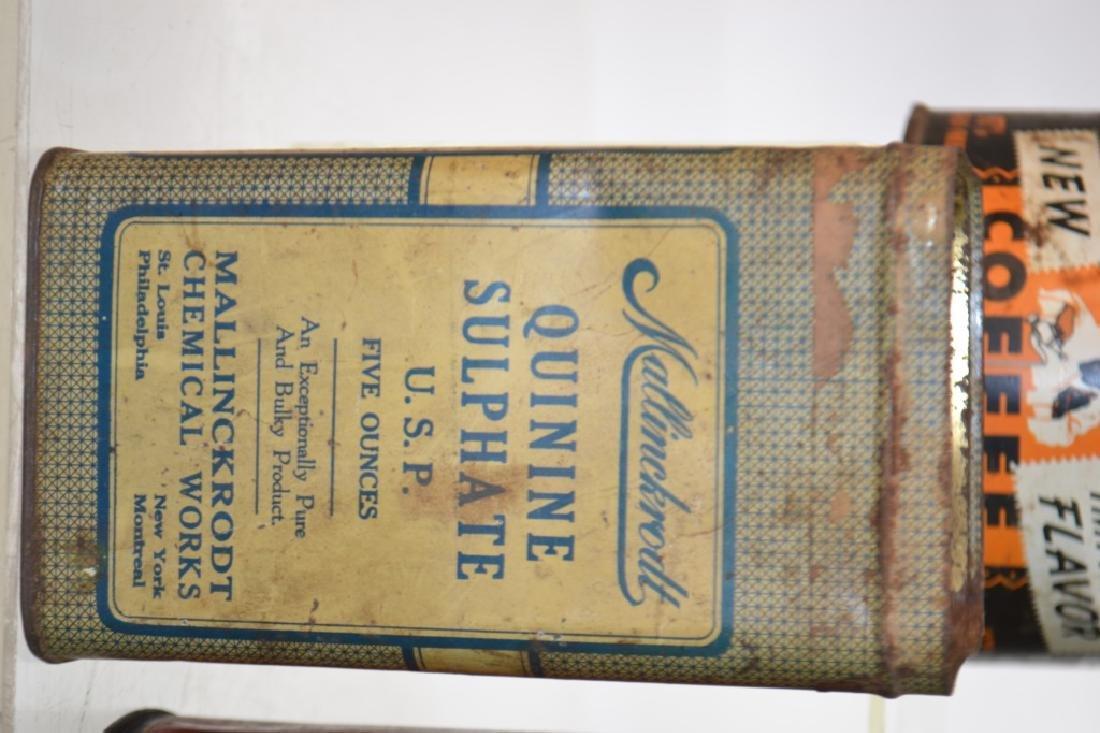 Vintage Advertising Tins - 3