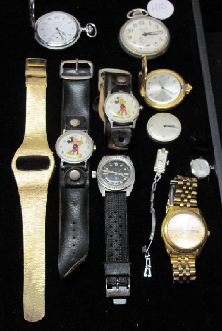Wrist and Pocket Watch Grouping