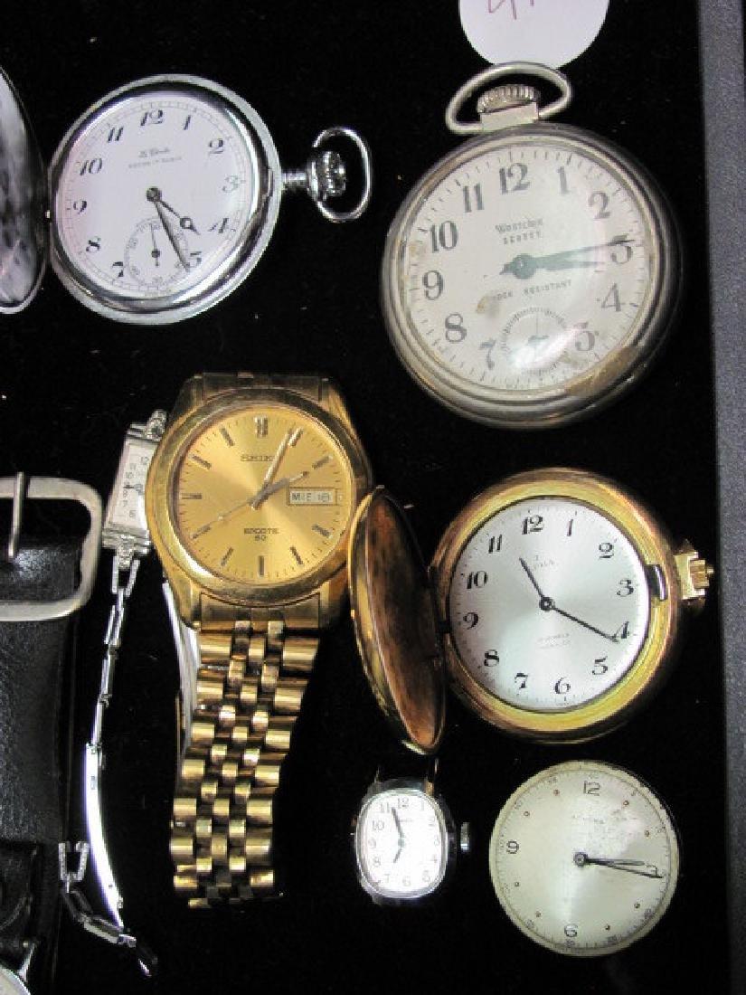 Wrist and Pocket Watch Grouping - 3