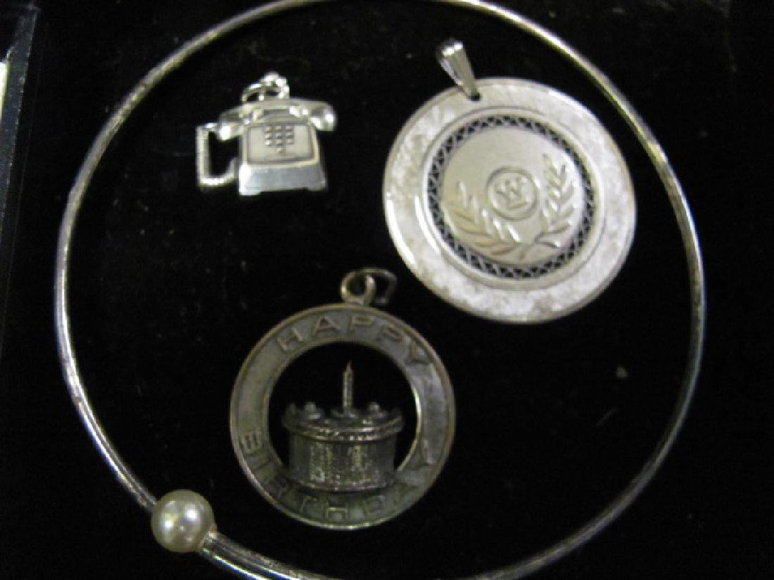 Sterling Jewelry Grouping - 2