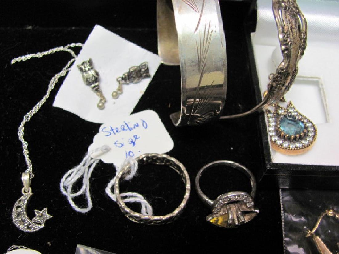Sterling Jewelry Grouping - 4