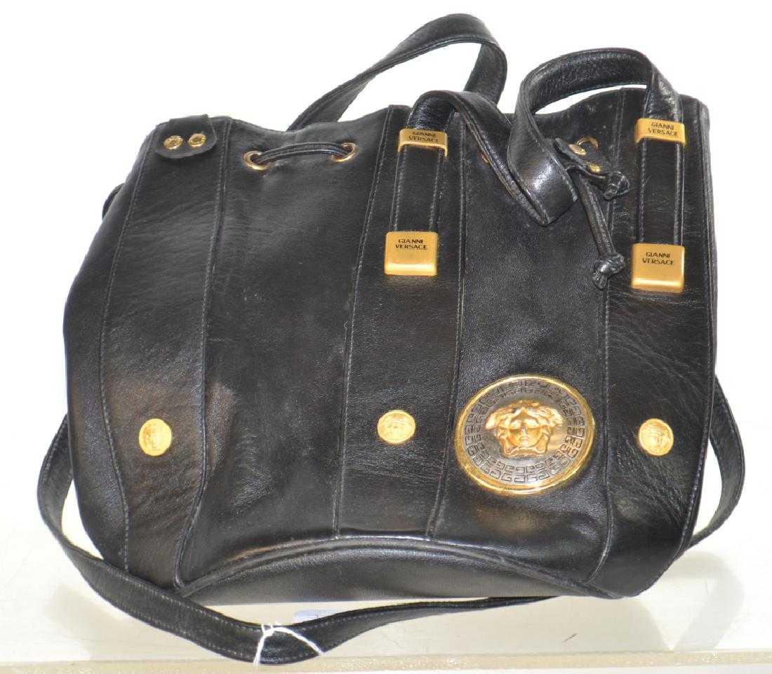 d6c3053fed2 Versace Shoulder Bag with Medusa Head Emblem