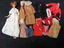 Vintage Barbie and Clothing