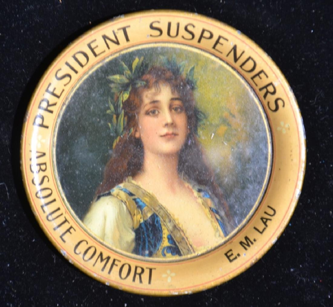"""President Suspenders"" Tip Tray"