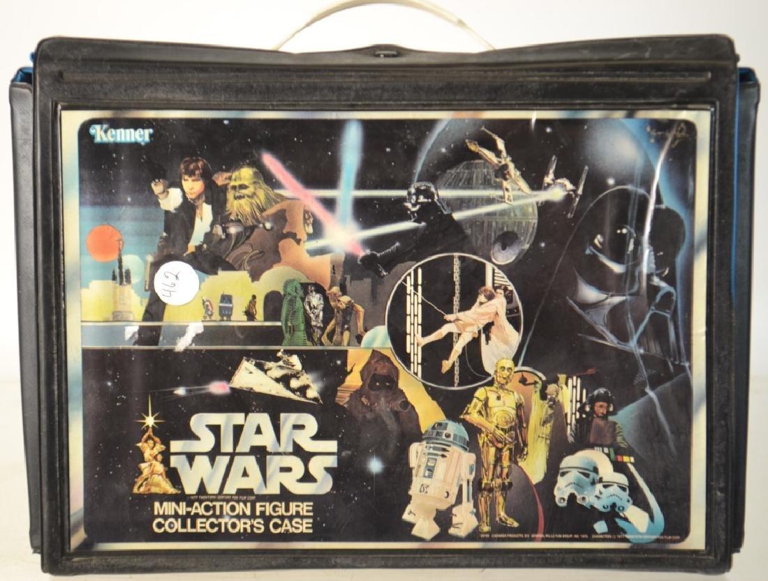 1970's Star Wars Figures in Collector's Case