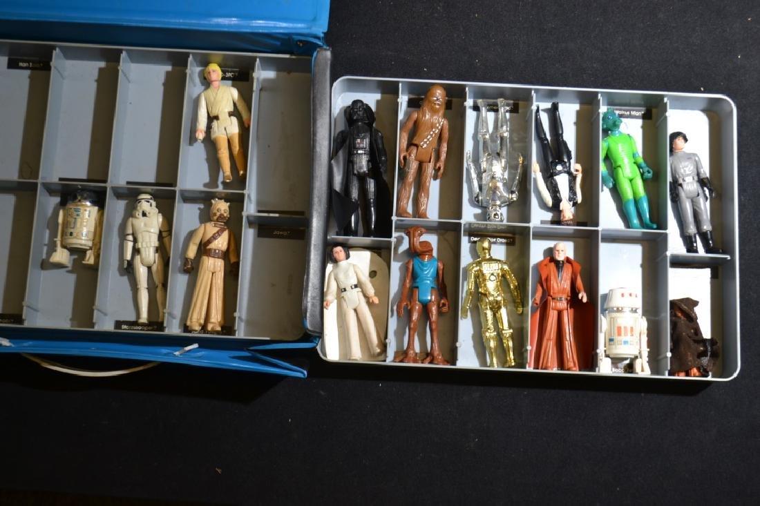 1970's Star Wars Figures in Collector's Case - 2