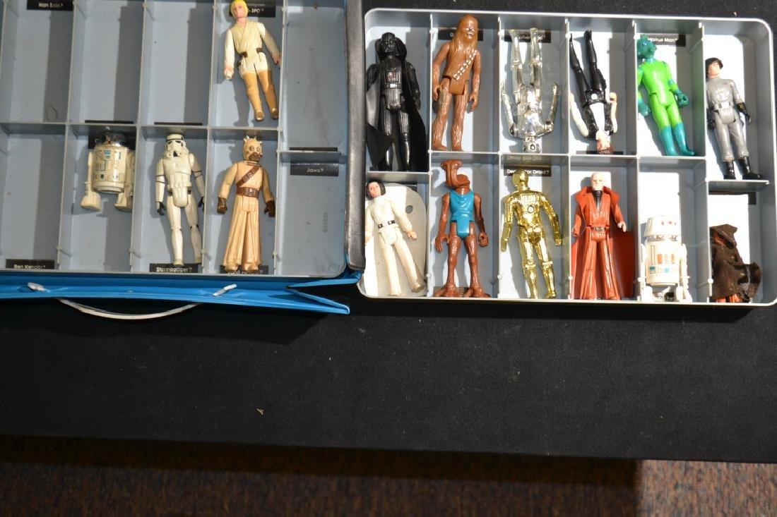 1970's Star Wars Figures in Collector's Case - 3