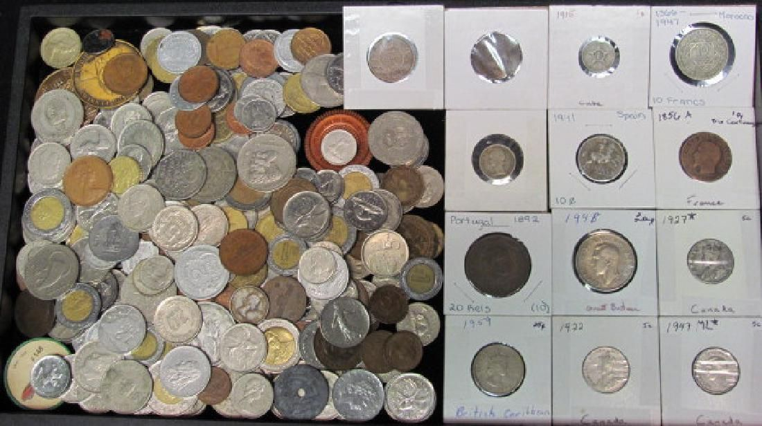Foreign Coin Grouping