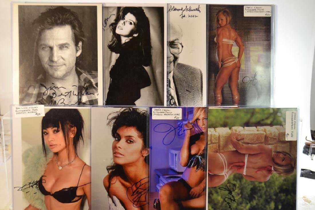 Twenty-Six Autographed Glossies - 3