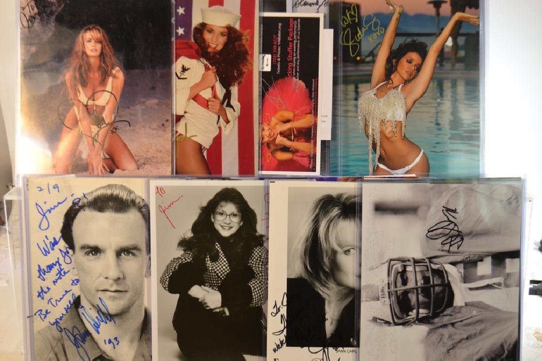 Twenty-Six Autographed Glossies - 4