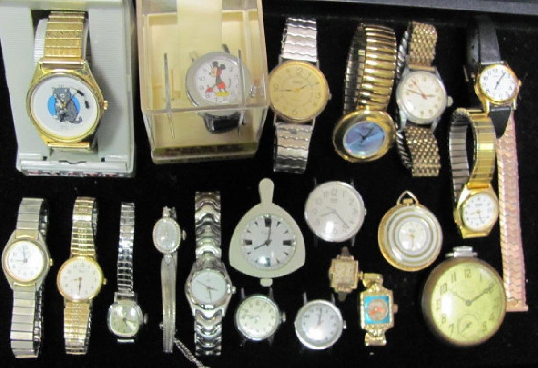 Lady's and Men's Watch Grouping
