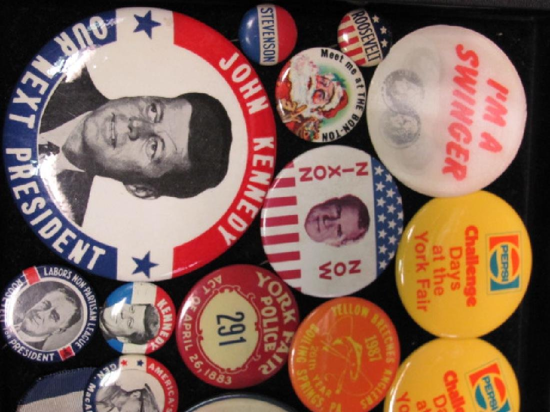 Political Pin Backs - 2