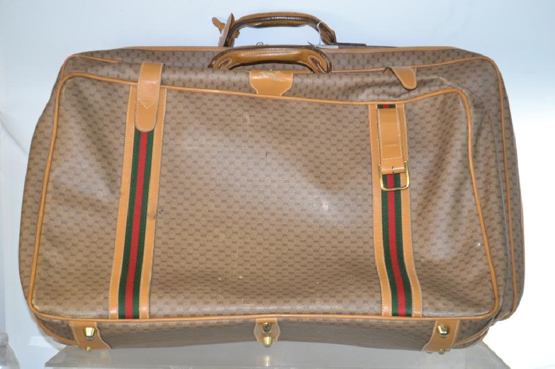Two Piece Gucci Luggage Set