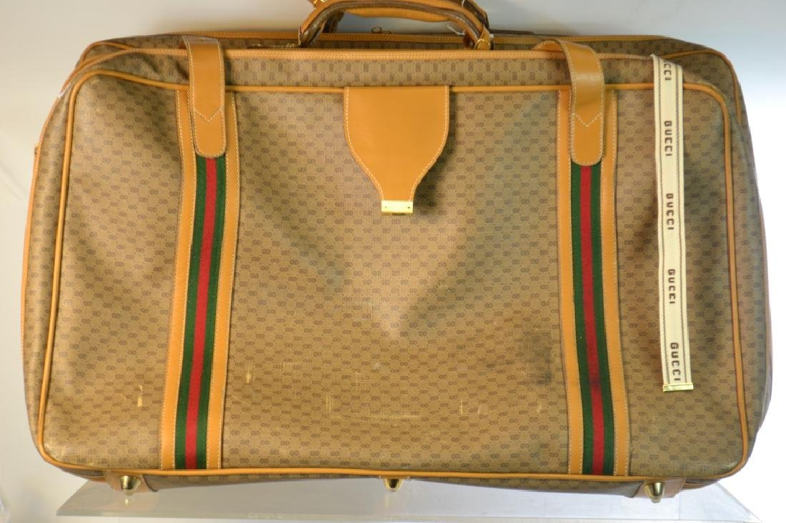 Two Piece Gucci Luggage Set - 3