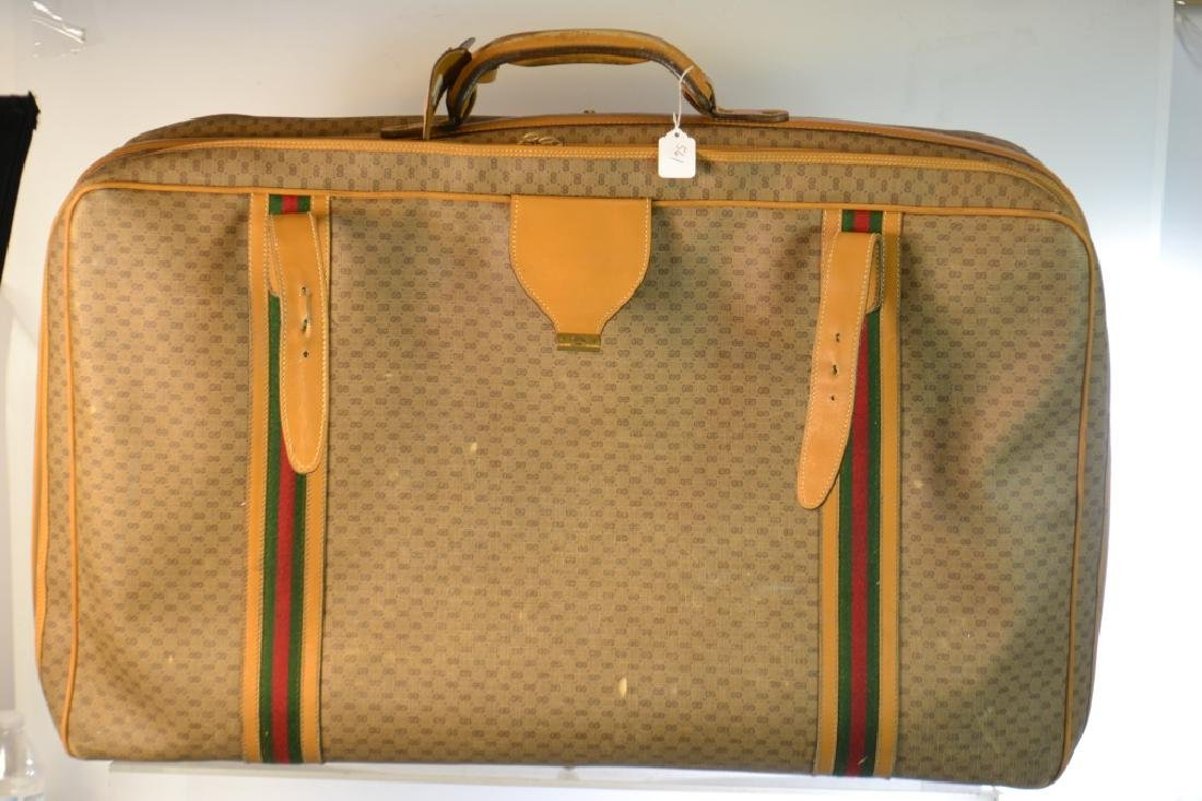 Two Piece Gucci Luggage Set - 4