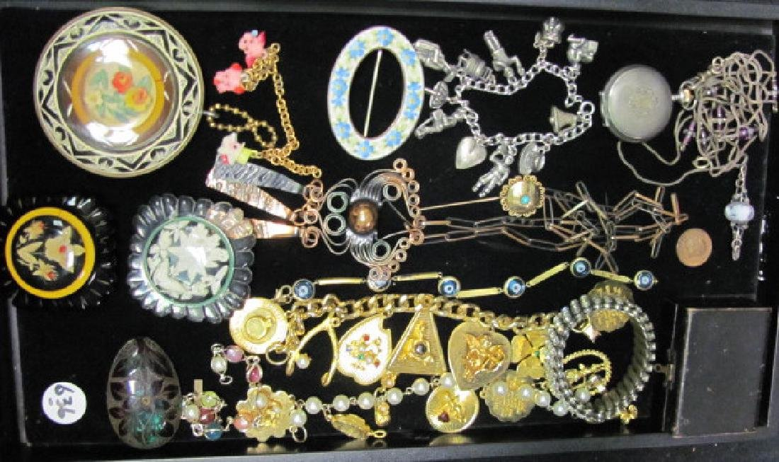 Mixed Vintage/Victorian Jewelry Lot