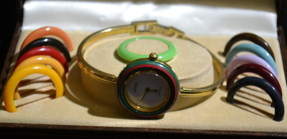 Gucci Swiss-Made Bangle Watch
