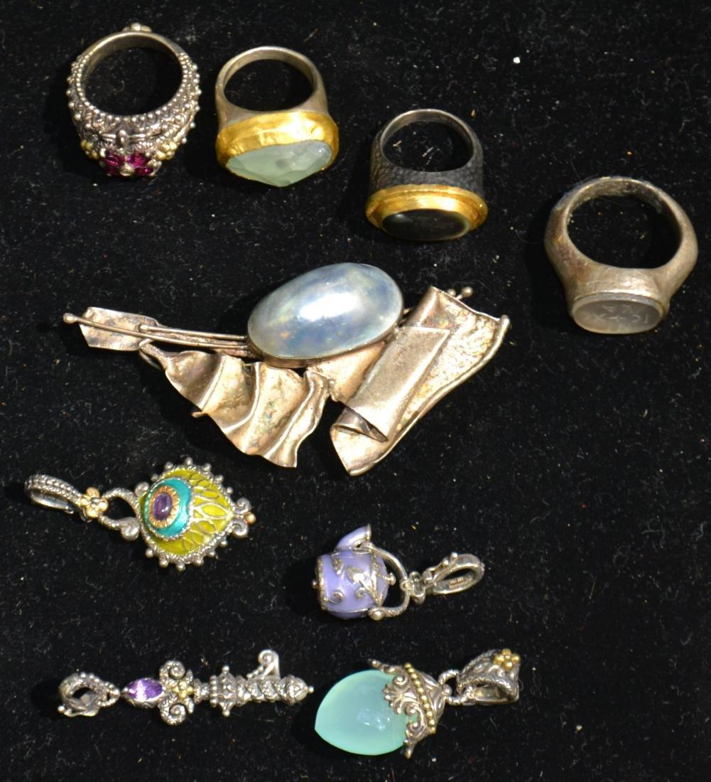 Sterling Modern Jewelry