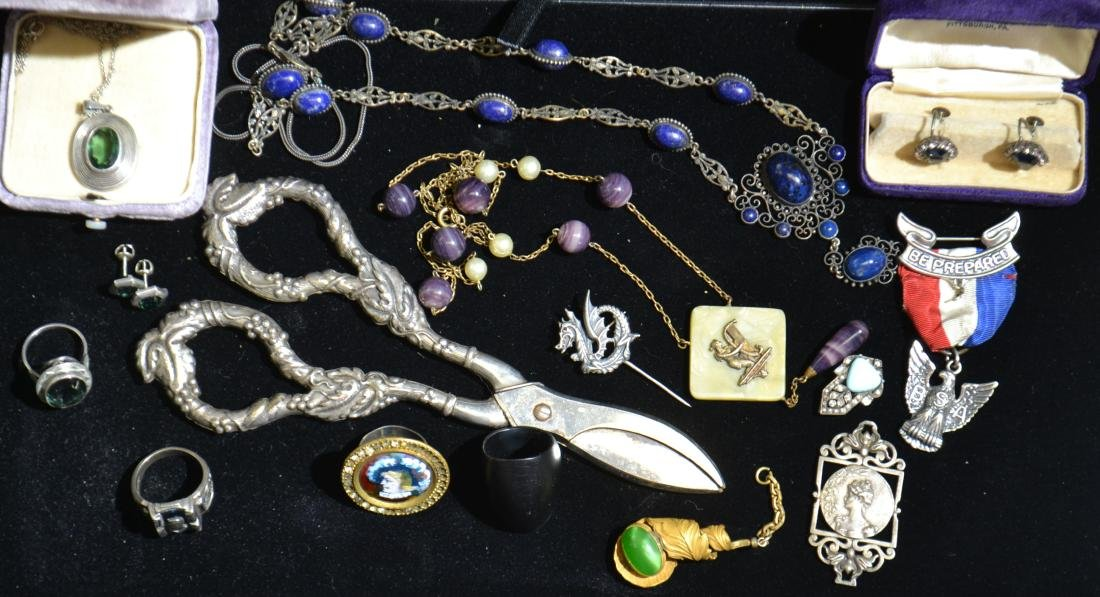 Victorian and Sterling Jewelry
