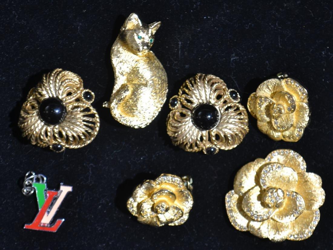 Designer Jewelry-St. John, Oscar de la Renta, Dior