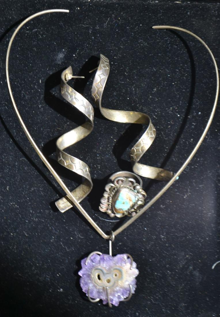 Native American Jewelry Grouping