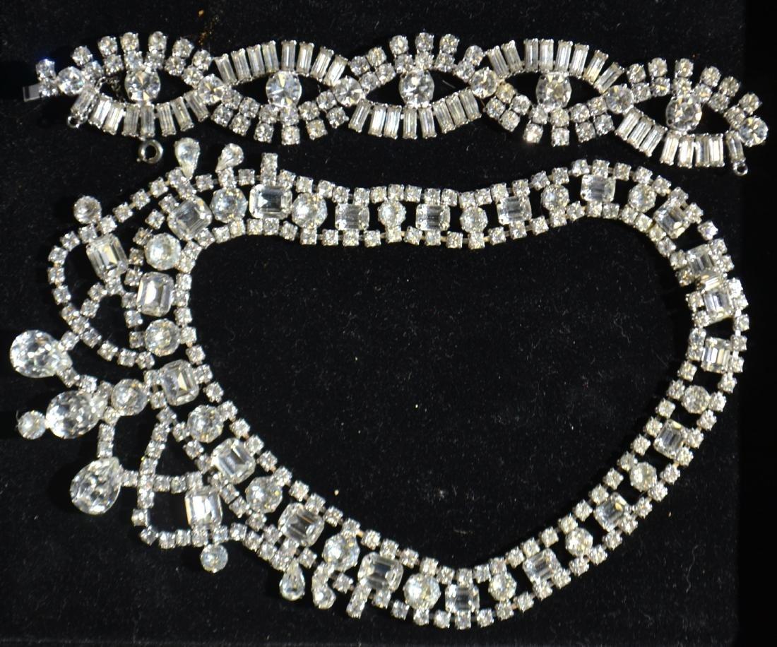 Weiss Bib Rhinestone Jewelry
