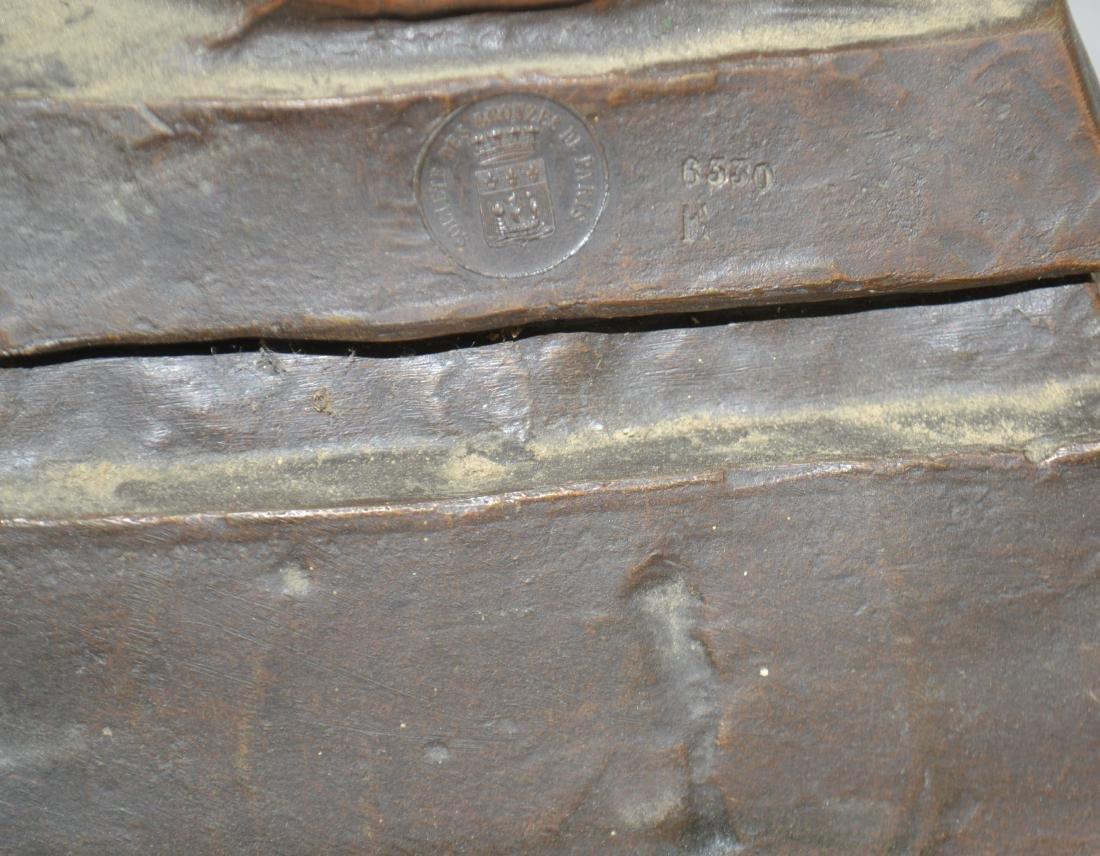 Bronze Valkyrie by E. Villanis - 2 1/2 Feet - 4