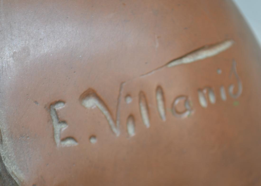 Bronze Valkyrie by E. Villanis - 2 1/2 Feet - 5