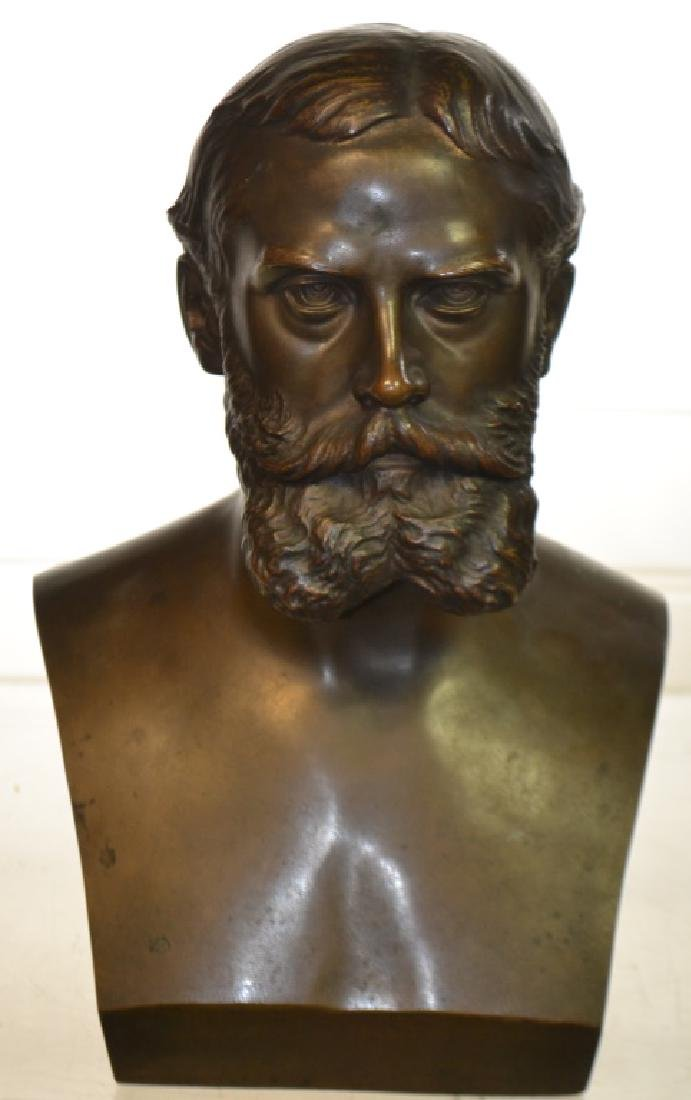 Bronze Bust of Gen. Ewing by Buteau Bros.