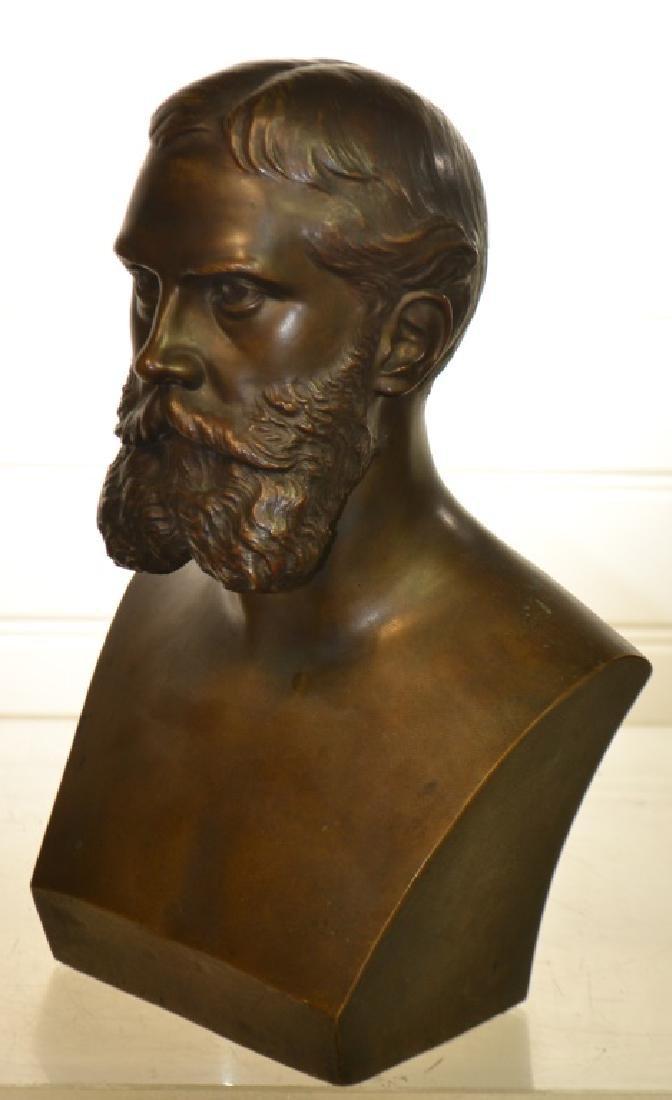 Bronze Bust of Gen. Ewing by Buteau Bros. - 2